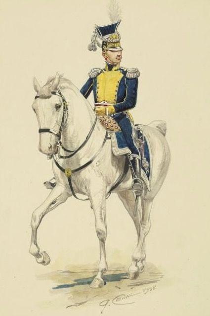 Colonnello del rgt. di fanteria polacca del regno di Napoli