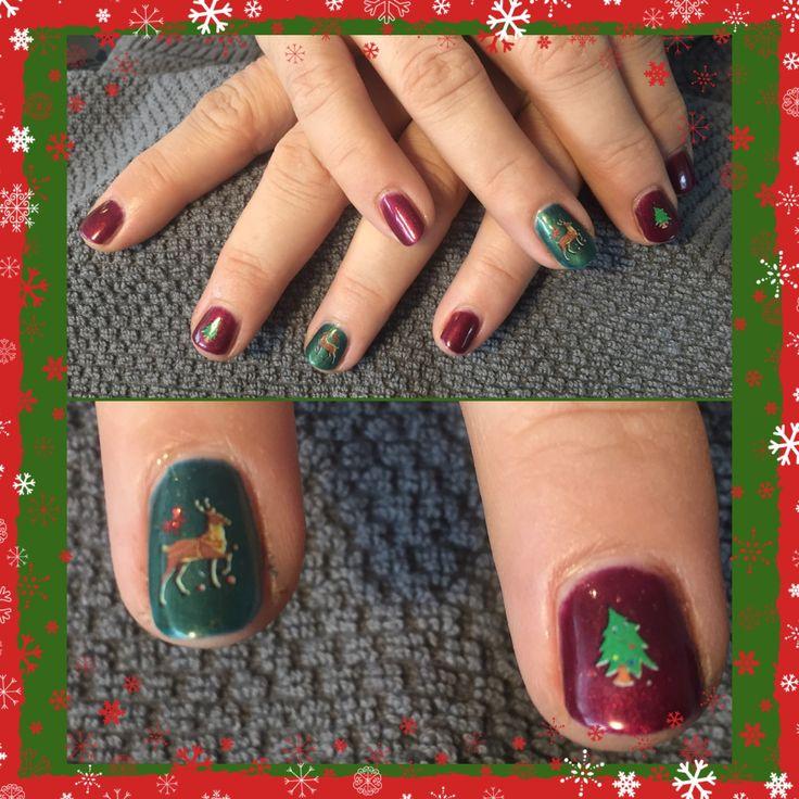 #gelpolish #nails #nailart #christmas #christmasnails