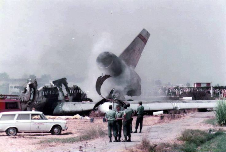 1982 Accidente Expantax, Málaga-New York ANCIENT MALAGA-SPAIN