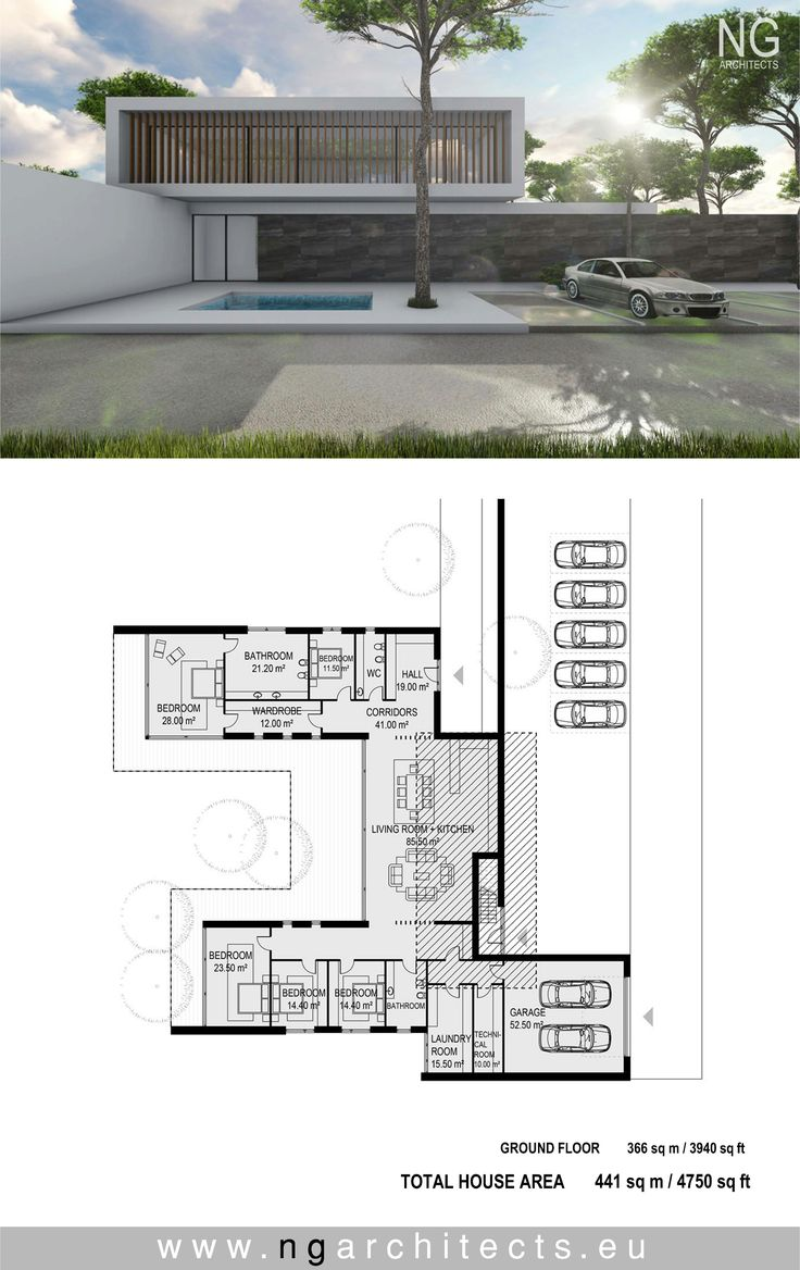 364 best modern houses images on pinterest contemporary houses modern house plan villa unity designed by ng architects ngarchitects ccuart Choice Image