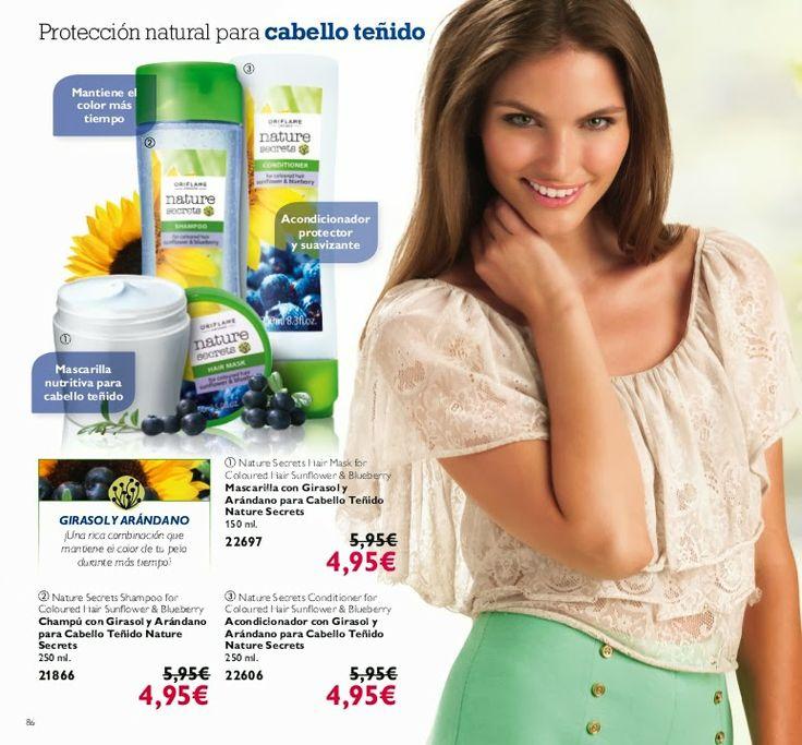 Protección natural para cabello Teñido  NATURE SECRETS......
