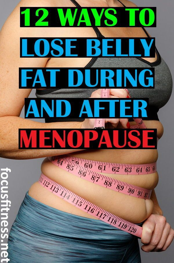 How to reduce belly fat during perimenopause