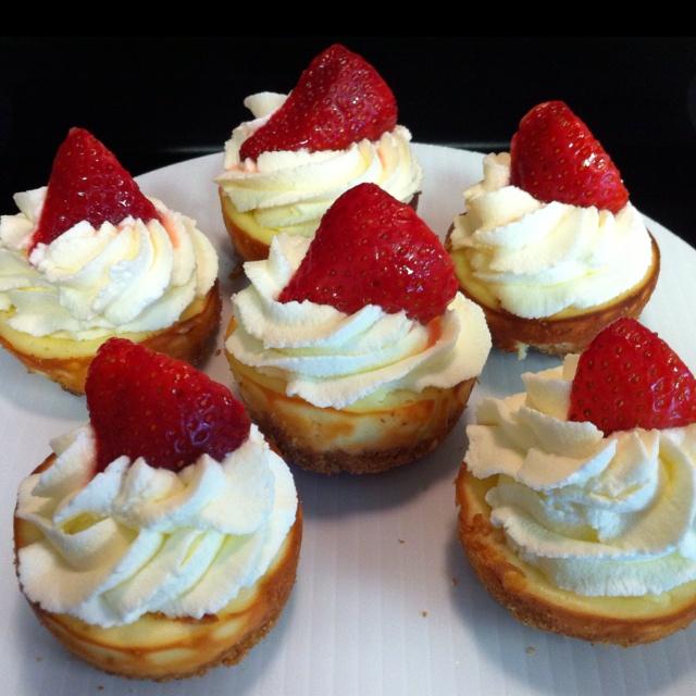 Mini Cheesecakes III Recipes — Dishmaps