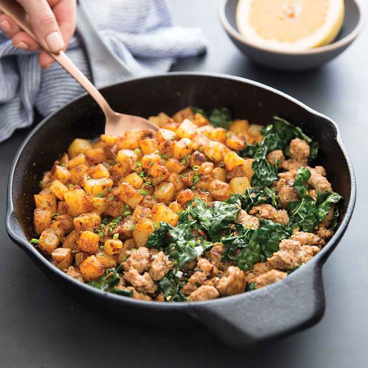 Paleo for Women This Week In Paleo: Home Fries and Sausage Skillet from Practical Paleo - Paleo for Women