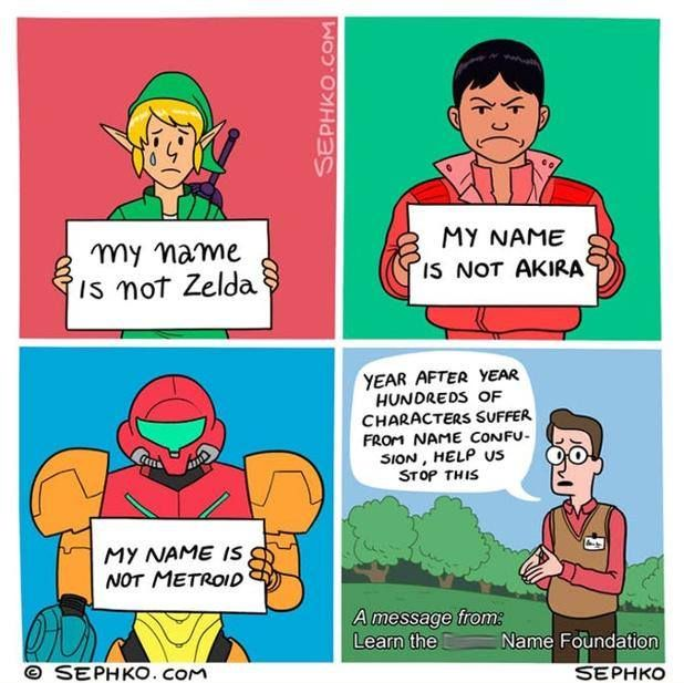 What S Another Video Game Character Whose Name Is Often Forgotten Thanks To Mike For Sending This In Memes Comics Metroid