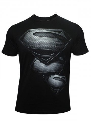 Buy T-Shirts Online | Superman Series Black T shirt | BIO-248 | cilory.com
