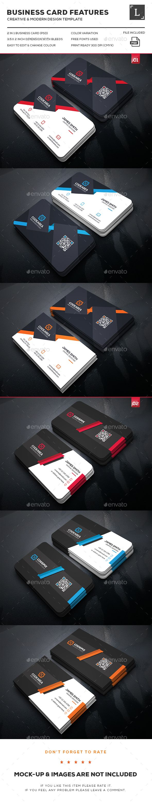 121 best dsgn business cards images on pinterest business card elegant business card bundle reheart Gallery