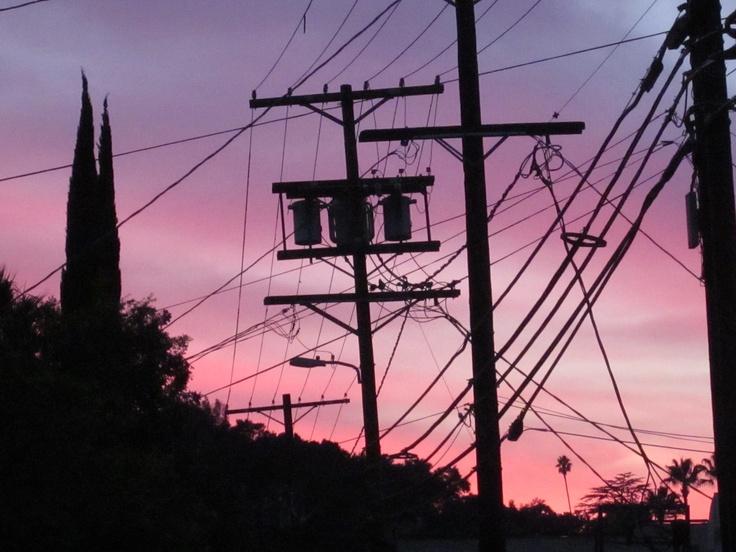 Beautiful sunset in LA: Angel Born, Beautiful Sunset, Los Angeles, Angel To Do