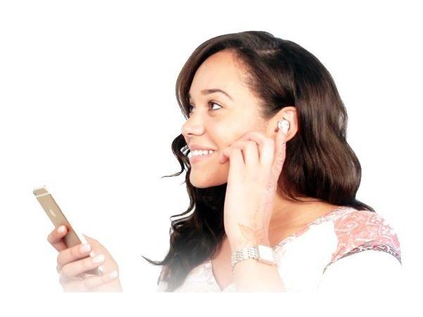 重さは3.5グラム 耳栓のような小型ワイヤレスイヤホン「Dot」に注目   Fashionsnap.com   Fashionsnap.com