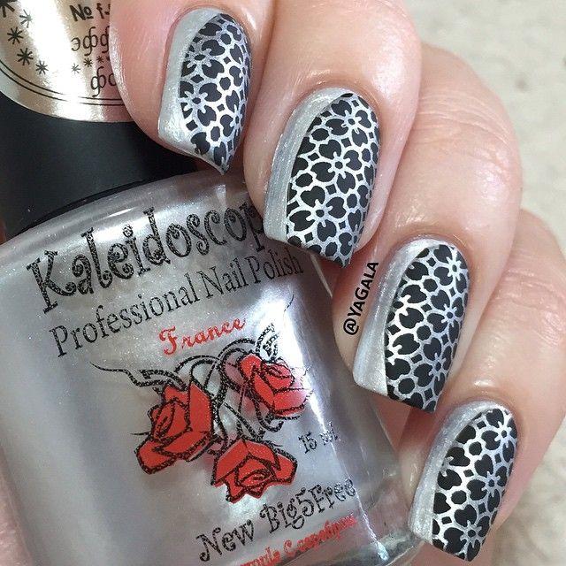 64 best kaleidoscope stamping polish images on Pinterest | Nail ...