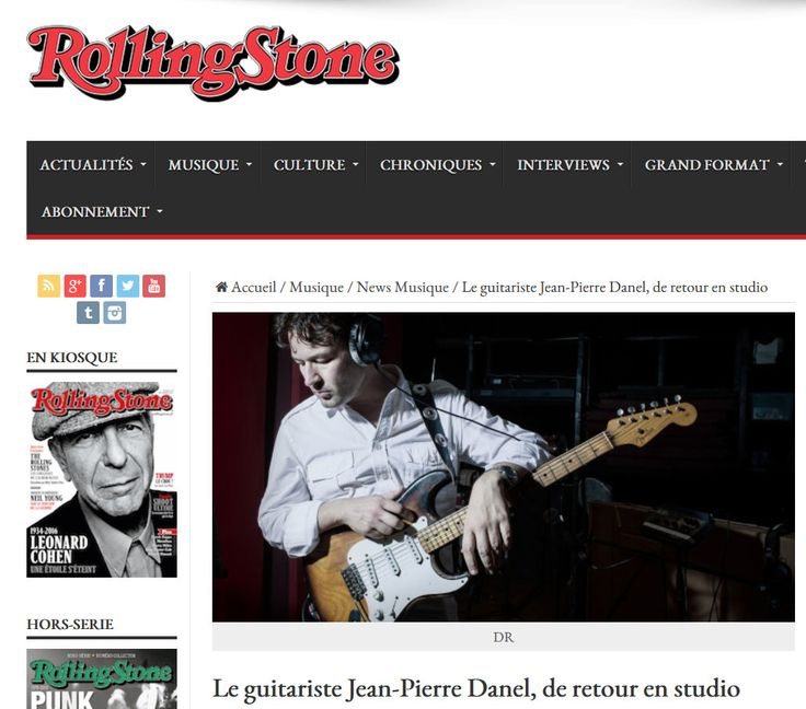 Article dans Rolling Stone  #public #show #musique #guitare #jeanpierredanel #music #guitar #guitarist #guitarplayer #fender #stratocaster #stratocaster54 #missdaisy #france #french #paris #star #hitmaker #people #showbiz #hitrecord #singer #musician #producer #guitartribute #generationguitare #2016 #strat54 #stratocaster1954