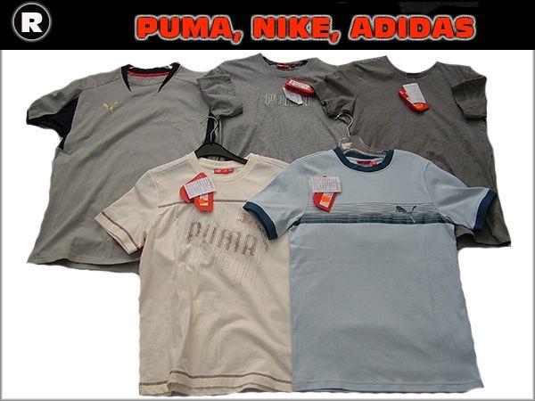 Koszulki Puma, Nike Adidas wyprzedaż