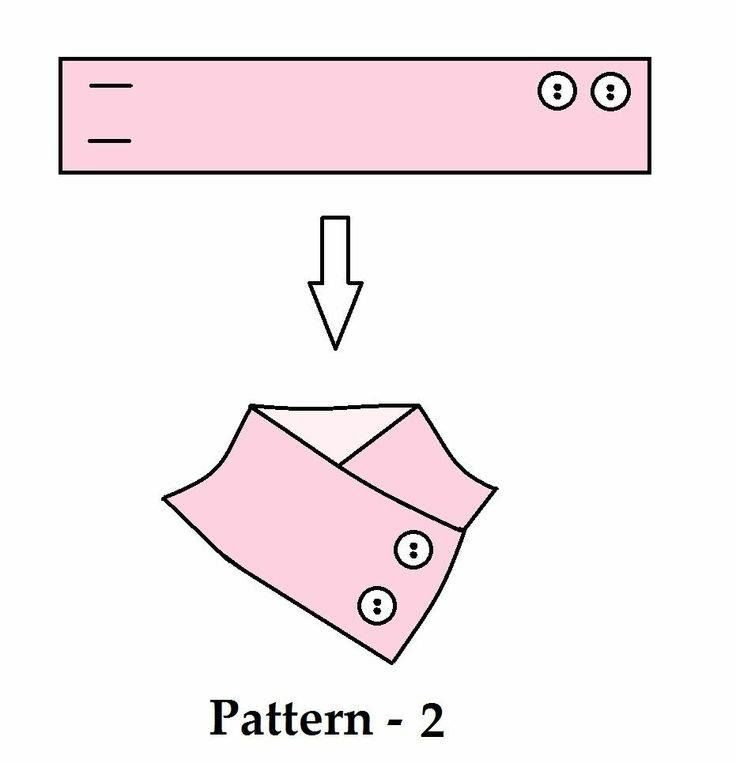 Sewing Pattern: Neckwarmer
