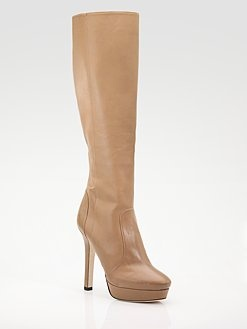Nude boots from Jimmy Choo!