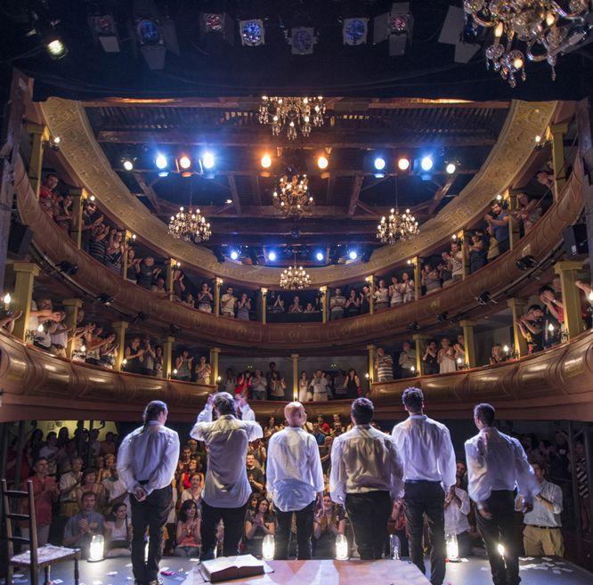 """Estreno """"Siglo de Oro, Siglo de Ahora"""". Compañía Ron Lalá. Corral de Comedias. Alcalá de Henares. Foto: David Ruiz. @ronlalateatro"""