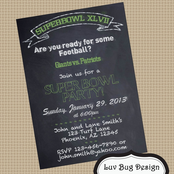 139 best Superbowl Party images on Pinterest | Gift, Beverage and ...
