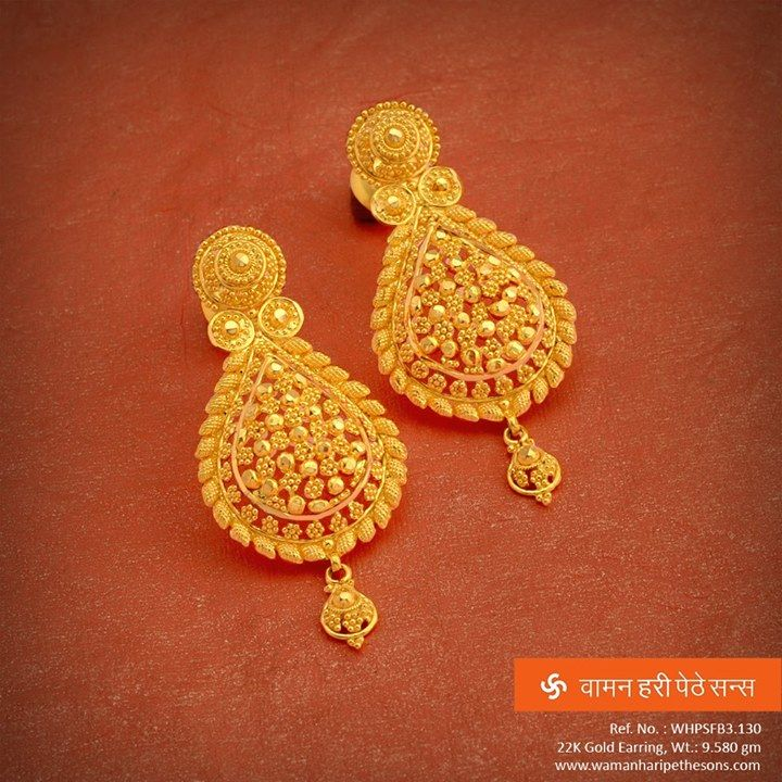 earring narang our earing hazoorilal designs hz indian by gold sandeep earrings collection