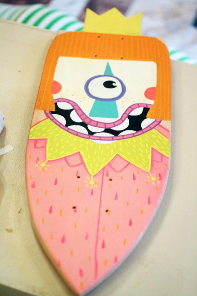 Mini-cruiser deck designed by Serebe.