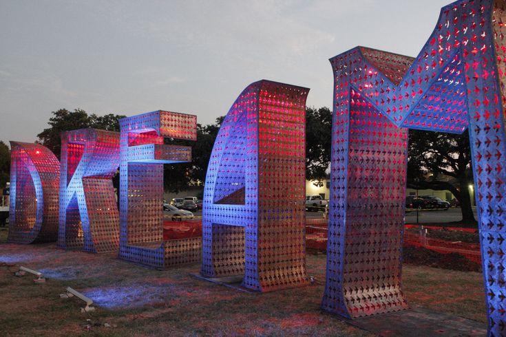 DREAM sculpture in Downtown Arlington, Texas #publicart