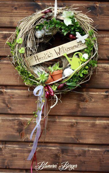 Wreath welkome :::: veniec vitajte