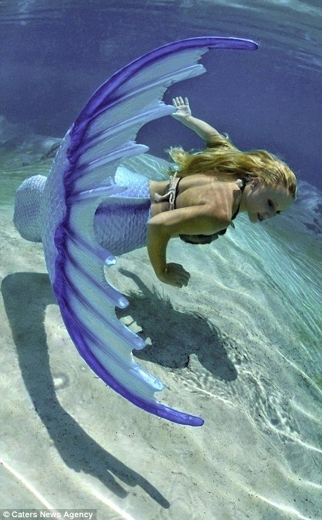 Melissa was already known for her free diving and breath-holding skills underwater during ...