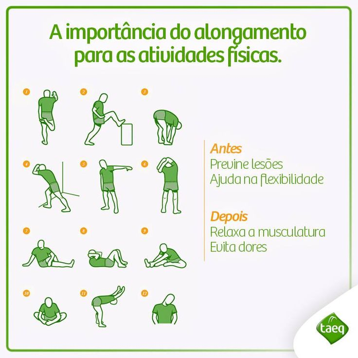 A importância do alongamento para as atividades físicas.