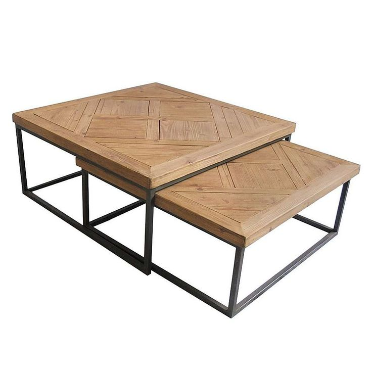Spitalfields Pair of Coffee Tables | Dunelm