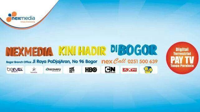 NexFriends yang tinggal di daerah Bogor dan memiliki kartu kredit maupun nasabah pemilik rekening tabungan BCA dapat membeli bundling paket Nexmedia hanya dengan Rp. 99 ribu lho!