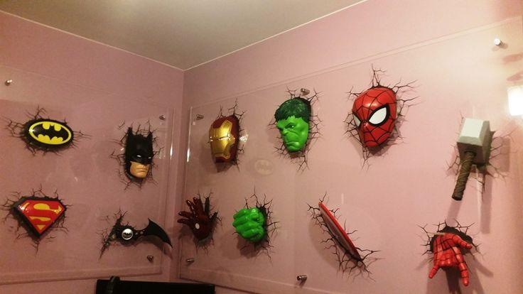 Lampki Marvel: Hulk, Thor, Spider-Man, Captain America