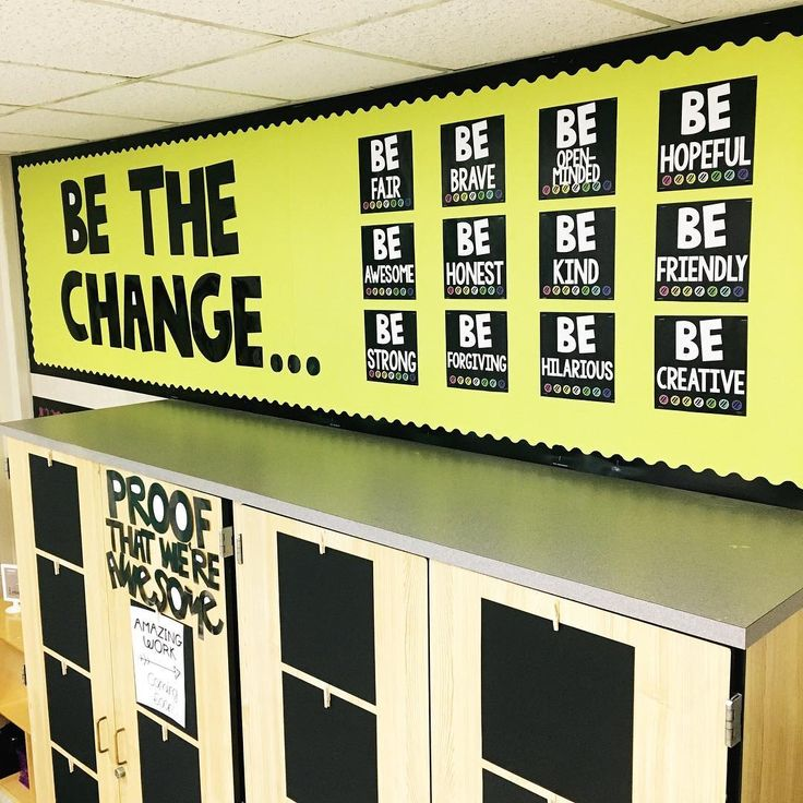 Be the Change Bulletin Board | Texas Lone Star Teacher