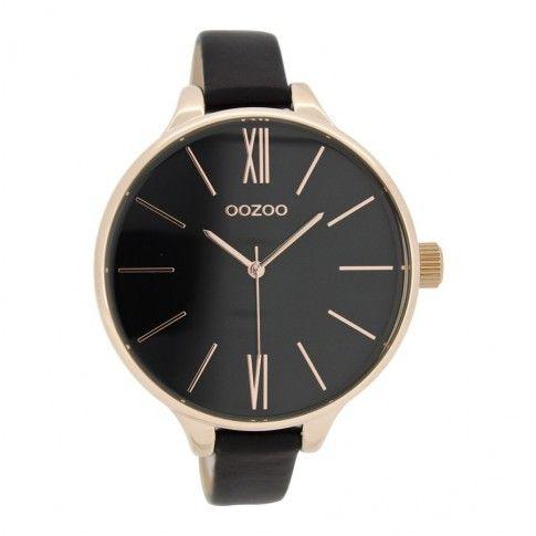 OOZOO Timepieces Zwart horloge C8404 (45 mm)