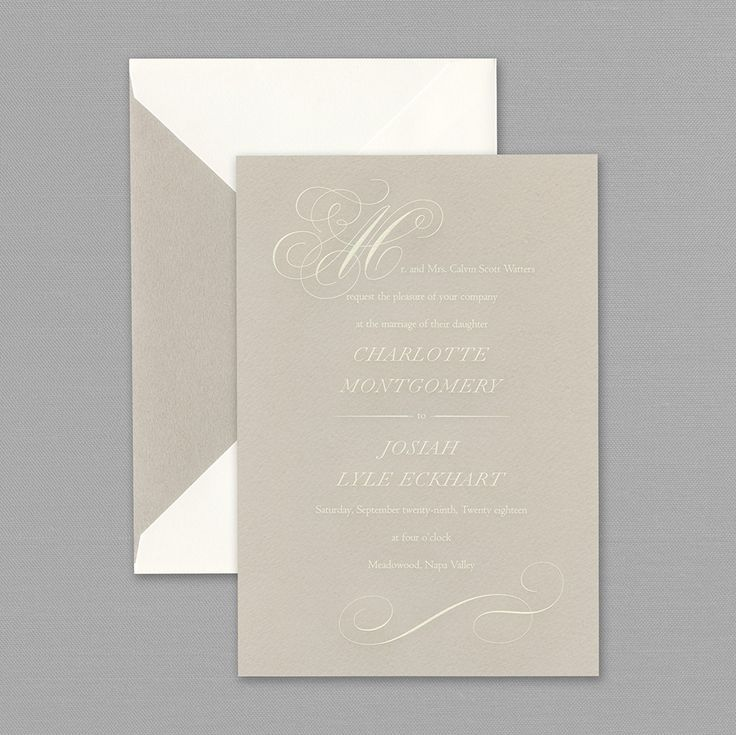 sample wedding invitation letter for uk visa%0A All Vera Wang Invitations and Announcements