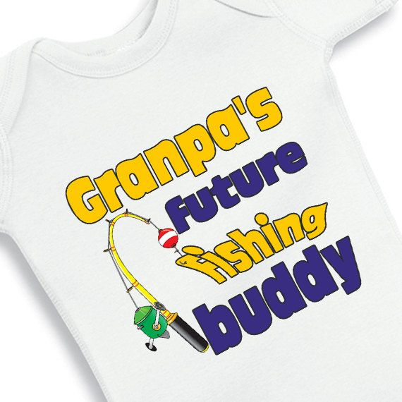 27 best gifts for grandma grandpa images on pinterest baby grandpas future fishing buddy personalized by babyonesiesbynany 1250 negle Image collections