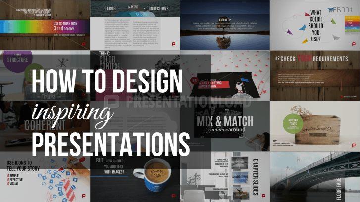 Free eBook - How to Design Inspiring Presentations