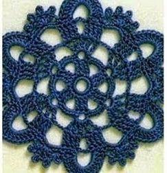 Patrón #1268: Granny a Crochet | CTejidas [Crochet y Dos Agujas]
