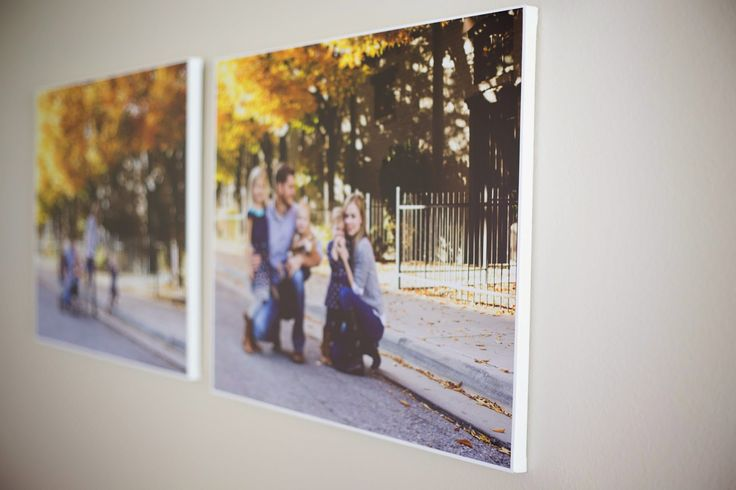 do it yourself divas: DIY: How to Make Large Canvas Prints for Less