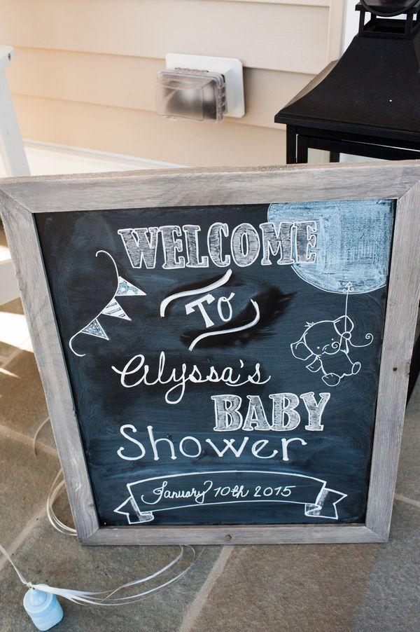 1000 Ideas About Baby Shower Chalkboard On Pinterest