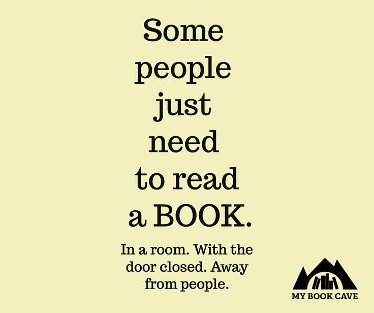 Some people just need to read a book...
