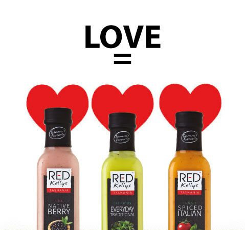 In the lead up to Valentine's Day, purchasing which dressing would be an act of LOVE? A, B or C? A. Pepperberry  B. Traditional  C. Spiced Italian