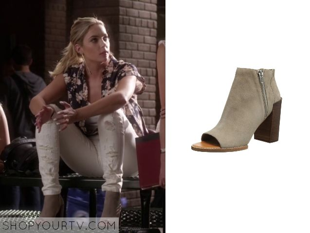 Pretty Little Liars: Season 5 Episode 15 Hanna's Nude Peeptoe Boots
