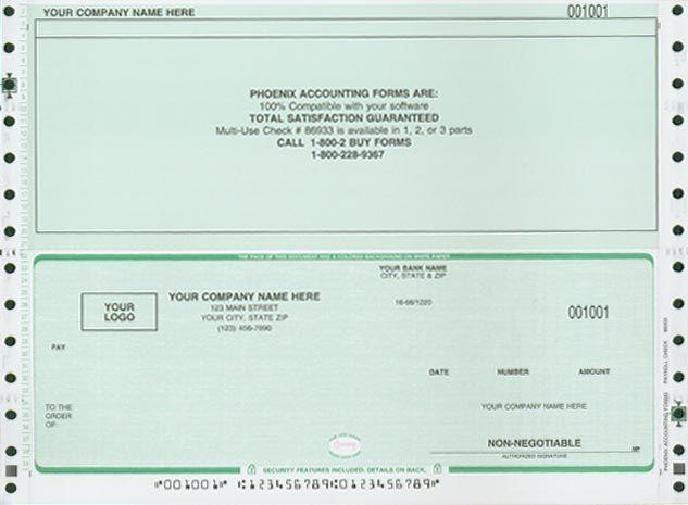 Payroll Check Template Payroll Checks Business Checks Payroll