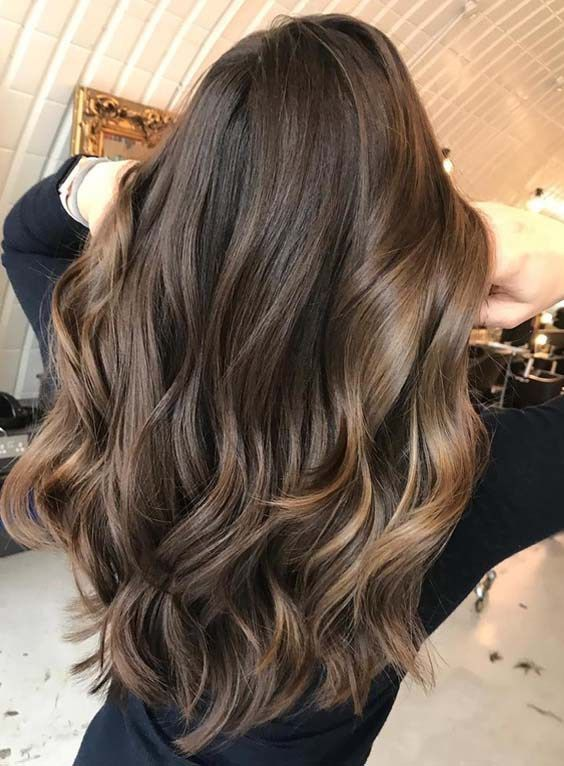 Balayage is one of the beautiful hair coloring techniques where color is painted on hair by hands. Its a french hair coloring technique which is now have got popularity around the world. In this post we have made a collection of caramel balayage hair colors that is also one of the best mixtures of hair colors in 2018.