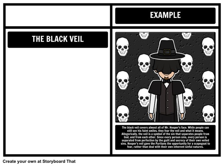 essay for the ministers black veil