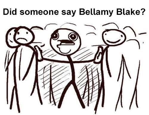*Bursts through 4000 doors* Did someone say Bellamy Blake ? || The 100 || Bob Morley