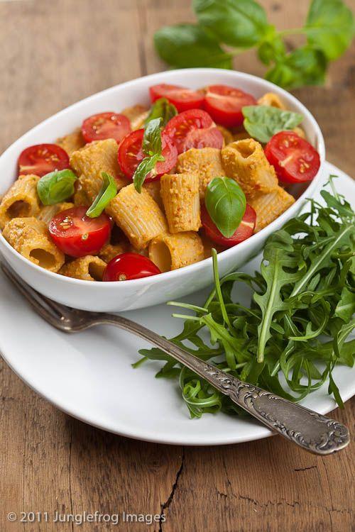 Trapani-style rigatoni - Jamie Oliver