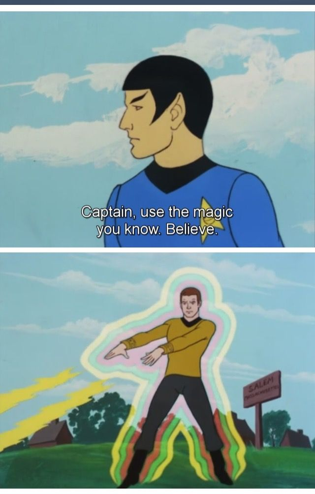 Honestly wtf is the animated series of Star Trek??