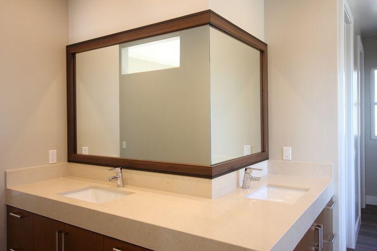 Diy Mosaic Tile Bathroom Mirror: 1000+ Ideas About Tile Mirror Frames On Pinterest