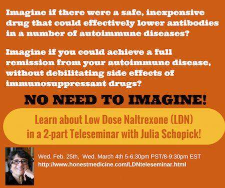 naltrexone for autoimmune disorders