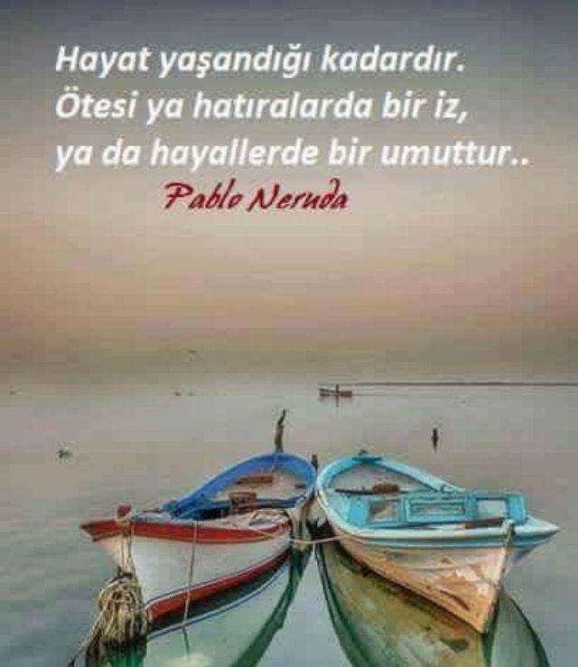 ➰Həyat yaşandığı qədərdir. Sonrası ya xatirələrdə bir iz, ya da xəyallarda bir ümiddir .. #Pablo_Neruda