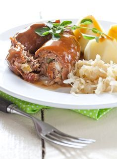 Dinner Recipe: German Beef Rouladen This recipe skips the step of rolling the beef up - but that is what you are suppose to secure with toothpicks.